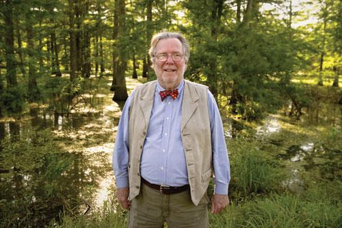 John Pritchard, author of Sailing to Alluvium