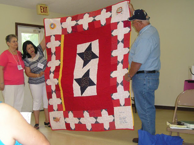 Mowa Native Americans Celebrate Their Rich Quilting Tradition At