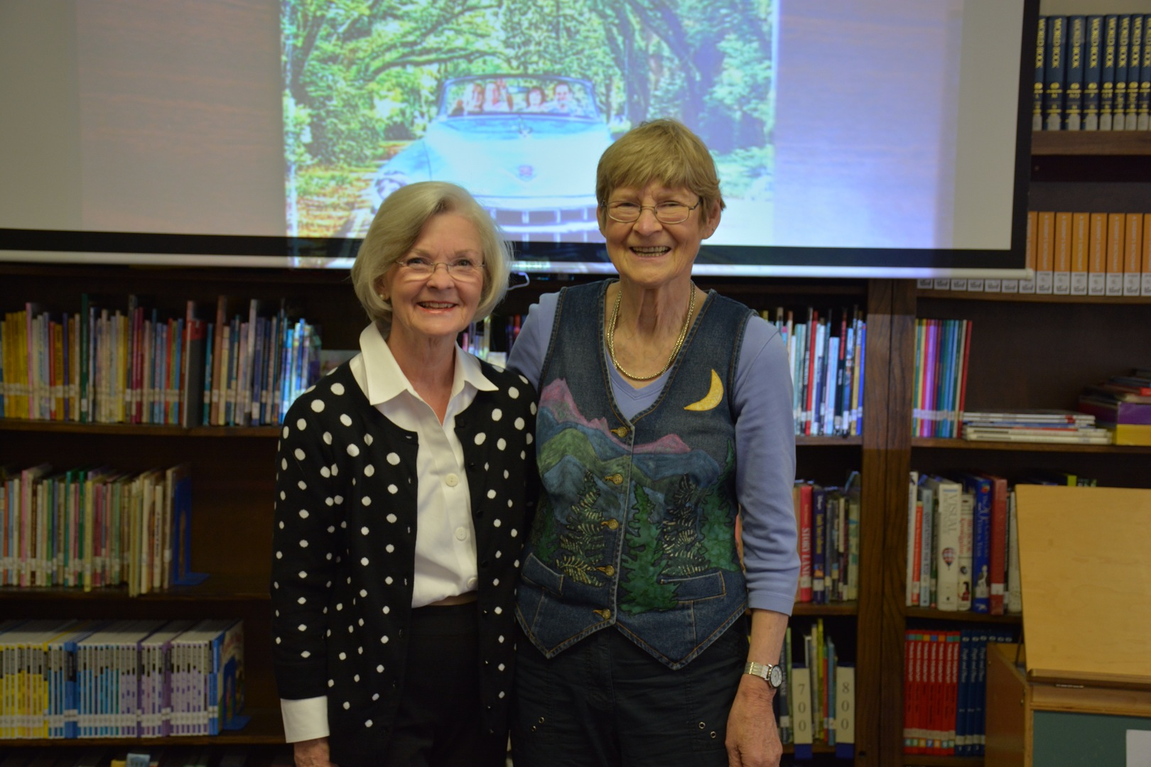 Alabama First Lady Dianne Bentley and author Faye Gibbons (Halley)