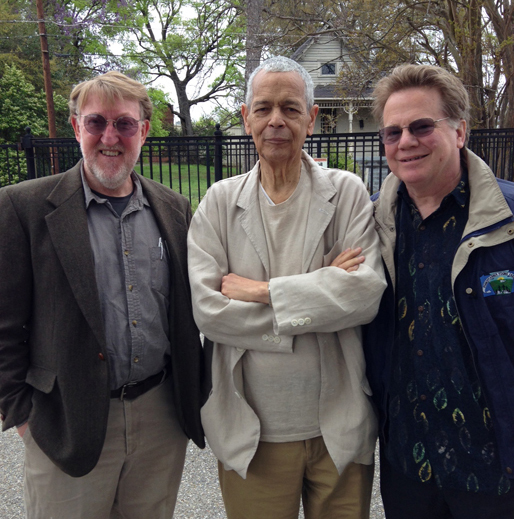 Randall Williams, Julian Bond, and Will Campbell, on a civil rights study tour for the University of Virginia