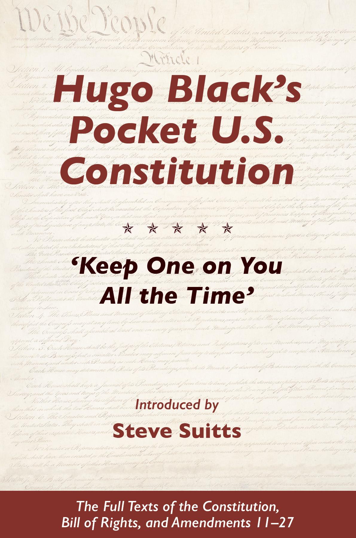 Hugo Black's Pocket U.S. Constitution
