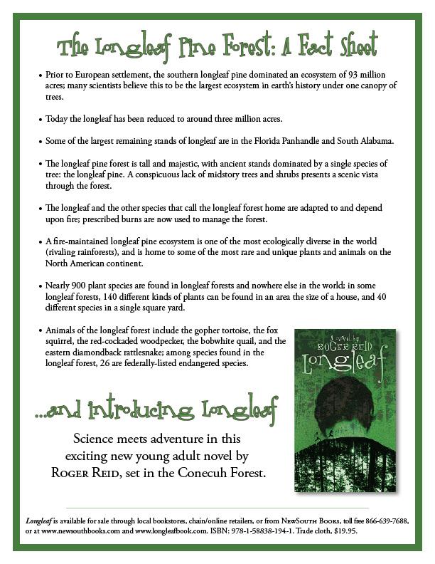 Longleaf Forest Fact Sheet