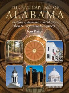 Five Capitals of Alabama Front Cover 11-26-19